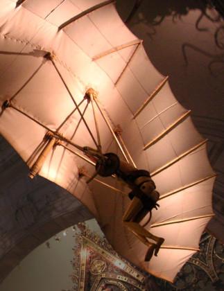 Reconstruction of Leonardo da Vinci's Glider