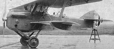 Levasseur PL.5 Fighter Showing Floats under Wings