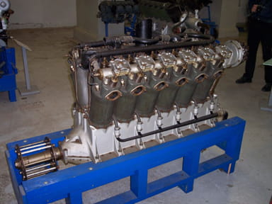 Liberty V-1650-1 V-12 Water-Cooled Piston Engine, 435 hp