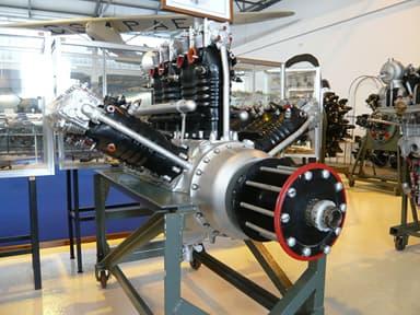 Lorraine 12Ed Courlis Piston Aero Engine