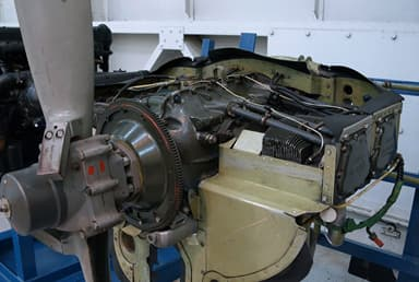 Lycoming IO-360-A1B6 Aircraft Engine at Royal Air Force Museum, Cosford