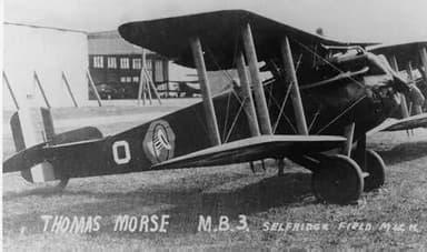 MB-3 of 94th Pursuit Squadron, 1st Pursuit Group, Selfridge Field, Michigan