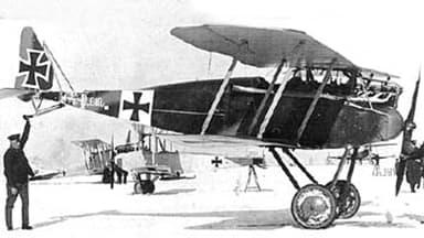 Maneuverable Halberstadt D.II Popular on Western Front