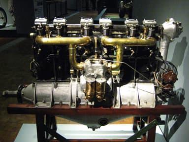 Mercedes D.II Six-Cylinder, Inline Aircraft Engine Built by Daimler