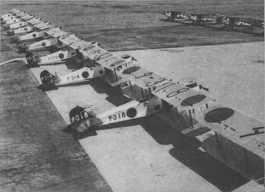 Mitsubishi B1M's Line Up for Action