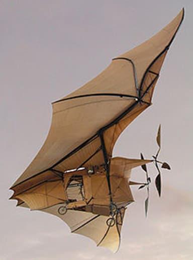 Model of Avion III at Conservatoire National des Arts et Métiers in Paris