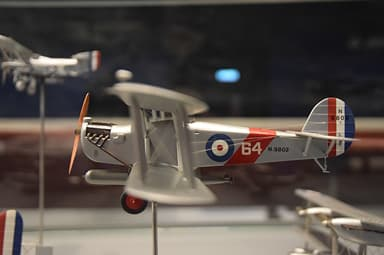 Model of Blackburn Dart at RAF Museum, Hendon
