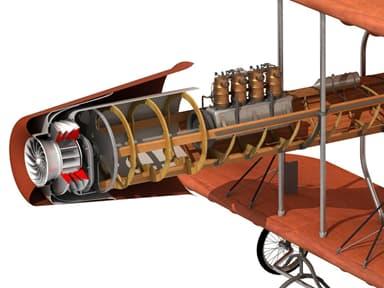 Modern Rendering of Henri Coandă's Motor Jet Engine