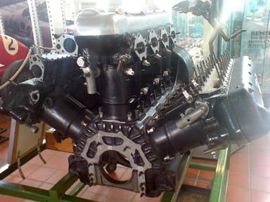 Napier Lion Engine at Brooklands Motor Museum