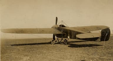 Nieuport IVG of the Air Battalion Royal Engineers