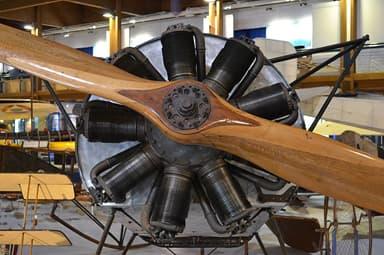 Oberursel UR.II Used in Fokker Dr.1