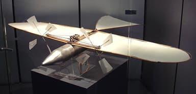 Original model aircraft, at Musée de l'Air et de l'Espace Near Paris