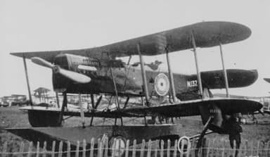Parnall Puffin Fighter Reconnaissance Aircraft