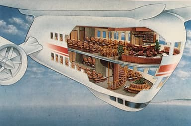 Passenger Variant, SkyShip 5000 Artist Impression and Planned Layout