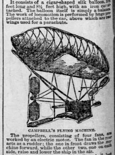 Peter C. Campbell's Flying Machine