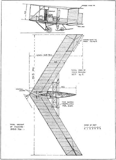 Plan for Dunne D.5