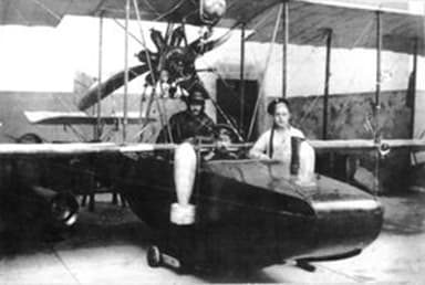 Possibly the Designer and His Aircraft