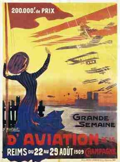 Poster Advertising the Grande Semain