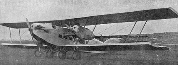 Potez XVIII photo from L'Aéronautique December,1922