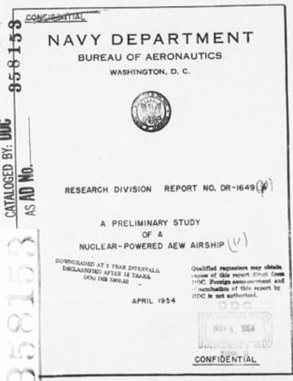 Preliminary Study Into Nuclear Powered Airships