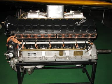 Preserved Curtiss D-12 Engine