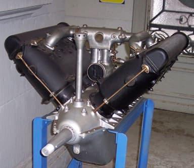 "Preserved ""direct-drive"" Hispano-Suiza 8"