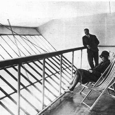 Promenade Deck on R101