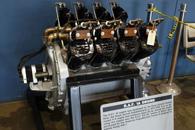 RAF 1a Engine at National Museum of the United States Air Force
