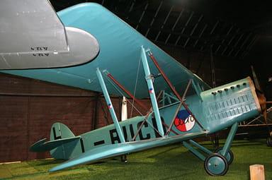 Replica Ab.11 Version in Prague Aviation Museum, Kbely