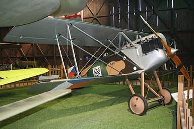 Replica Aero A.18 at Kbely Museum, Czech Republic