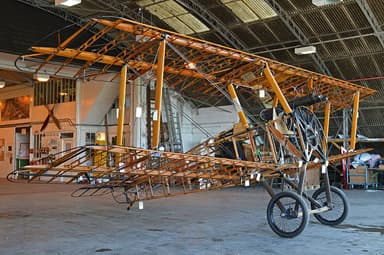 Replica Sopwith Camel Showing Internal Structure (Shuttleworth Collection)