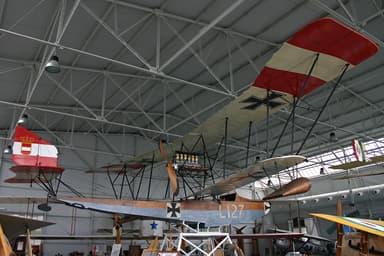 Restored Lohner L-1 Seaplane at Italian Air Force Museum