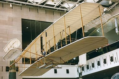 Restored Wright Flyer at Smithsonian Institution (1995)