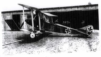 Rumpler C.IV Reconnaissance Aircraft