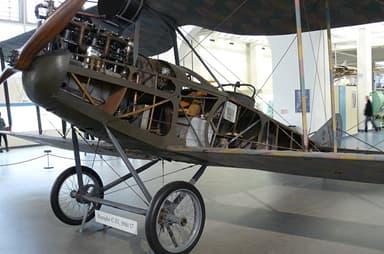Rumpler C.IV With Interior Exposed (Deutches Museum)