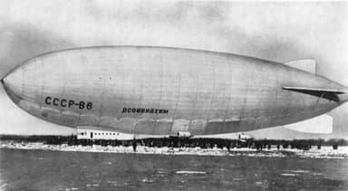 Russian Airship SSSR-V6 OSOAVIAKhIM (1938)