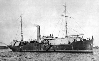 Russian Black Sea Seaplane Carrier Orlitsa with Capacity for Four Seaplanes