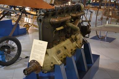 S.P.A. 6A engine on display at the Gianni Caproni Museum of Aeronautics