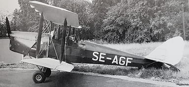 SE-AGF DH 60 Moth