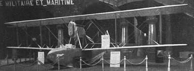 SIAI S.16 at 1919 Paris Air Salon
