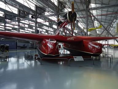 Savoia-Marchetti S.55 at TAM Museum, Sao Paulo, Brazil