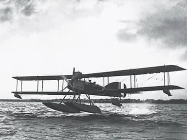 Short 184 Folding Wing Seaplane