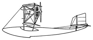 Side Elevation of Grigorovich M-1