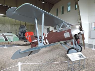 Siemens-Schuckert D III at Luftwaffenmuseum Gatow