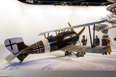 Siemens-Schuckert D.IV at Omaka Aviation Heritage Centre, New Zealand