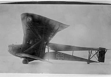 Siemens-Schuckert R.II Prototype German bomber