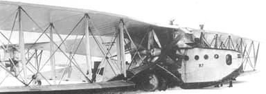 Siemens-Schuckert R.II Showing Engine Mountings