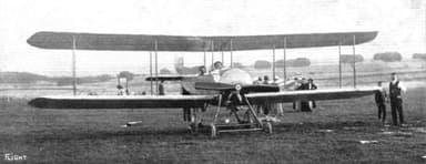 Single Tractor Engine, Two-Seat, Two-Bay Bristol T.B.8 Biplane
