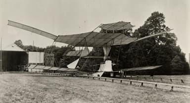 Sir Hiram Maxim's Flying Machine