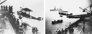Sopwith 1½ Strutter Aircraft Allocated To HMAS Australia (1918)